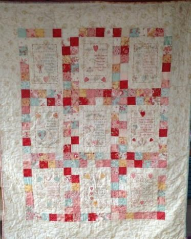 The Friendship Quilt Part 10 Quilts Redwork Embroidery Quilt Blocks