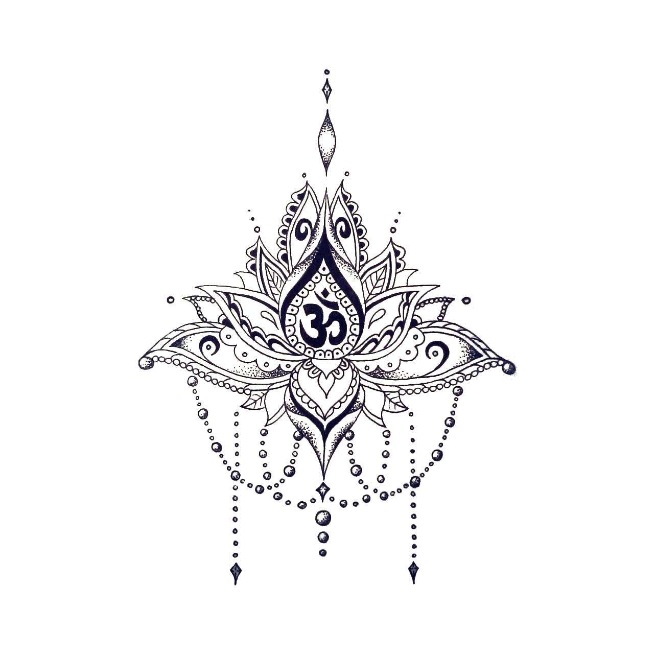 All Tattoo Designs Archives Tatouage Om Tatouage De Lotus Tatouage Texte