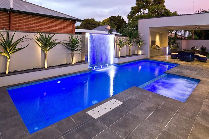 Pool Water Features Images Pool Water Features Raised Bond Beam