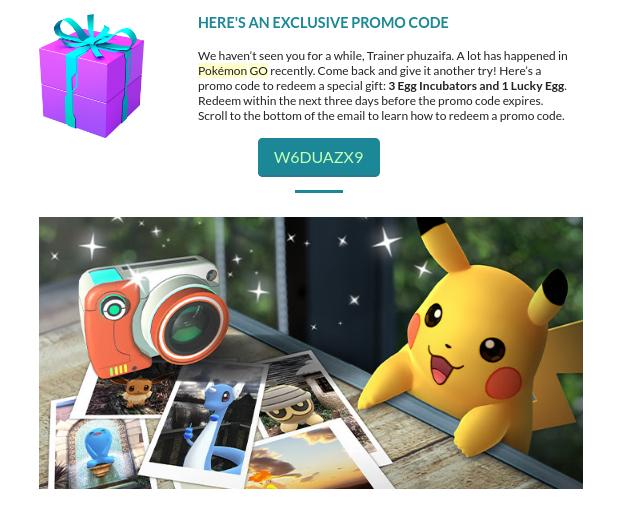 Here S An Exclusive Promo Code June 2019 Code Pokemon Pokemon Pokemon Go