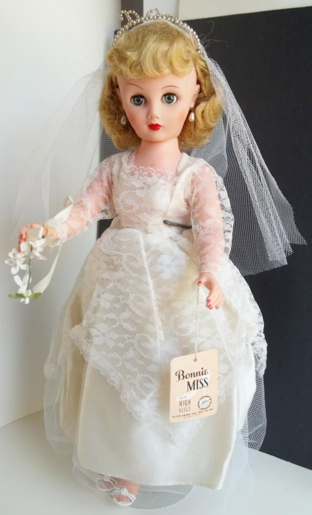 1950s Bride Doll Oma Had One Similar