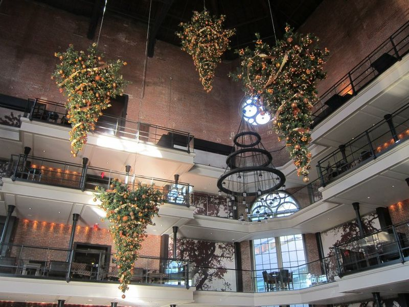 Liberty Hotel, Boston. Upside Down Trees