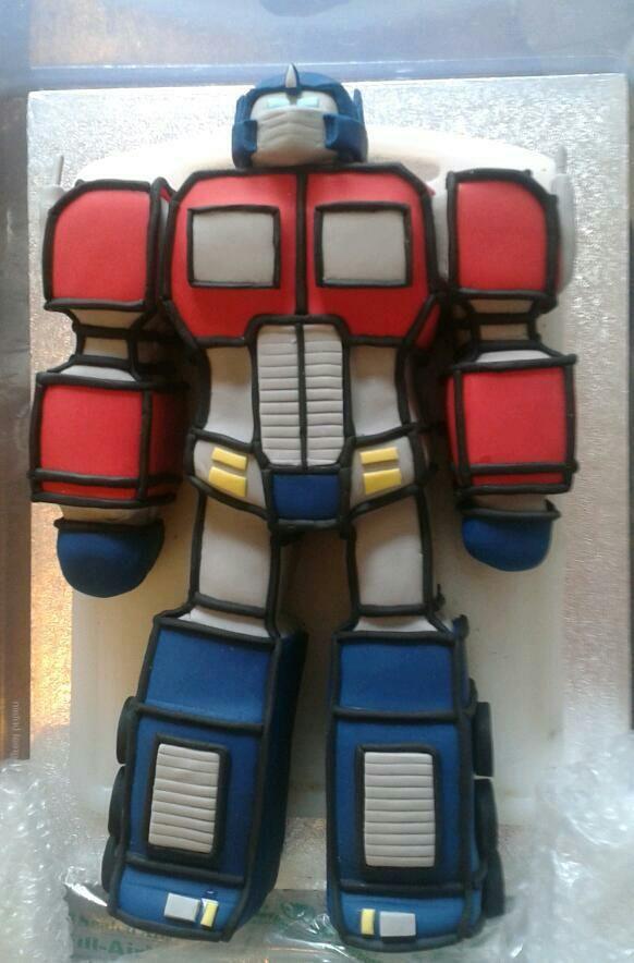 Optimus Prime Cake DIY Pinterest Cakes And