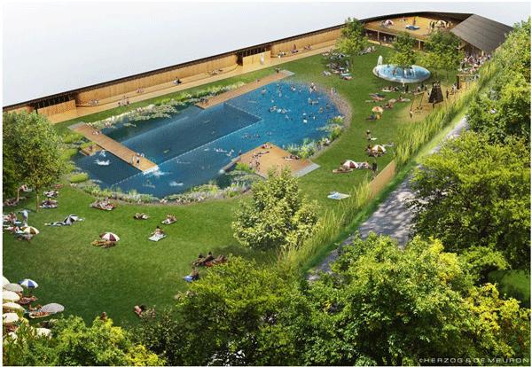 lac et piscine naturelle