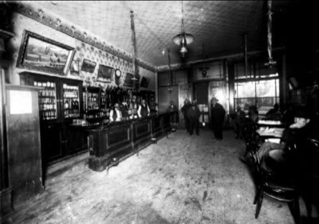 Central City Colorado Bar 1870   Old west photos, Old west