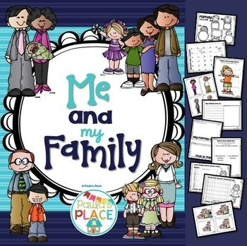 Me And My Family 120 Pages Through Experimentation And Play Children Use Their Interest In People And Preschool Family Preschool Family Theme My Family Essay