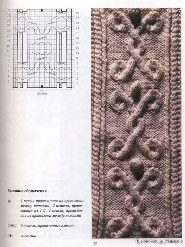 Tejer Aran. 220 patrones y diseños | puntos con dos agujas l ...