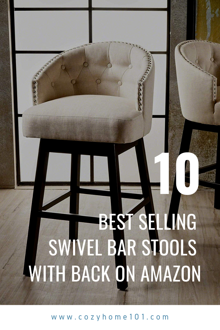 10 Best Selling Swivel Bar Stools With Back On Amazon In 2019