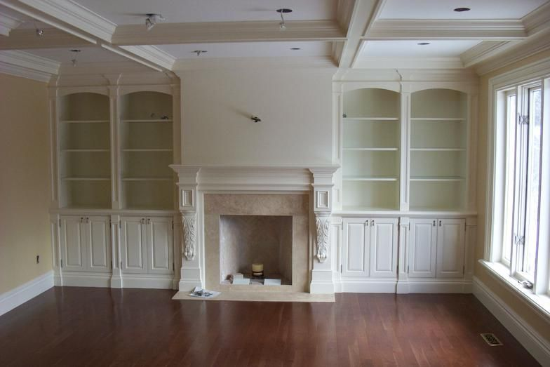 Built In Fireplace Wall Units Built Ins Wall Units