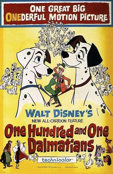 The Disney Films: 101 Dalmatians (Animated) 1961