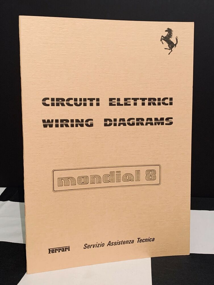 Details About 1981 Ferrari Mondial 8 Wiring Diagrams