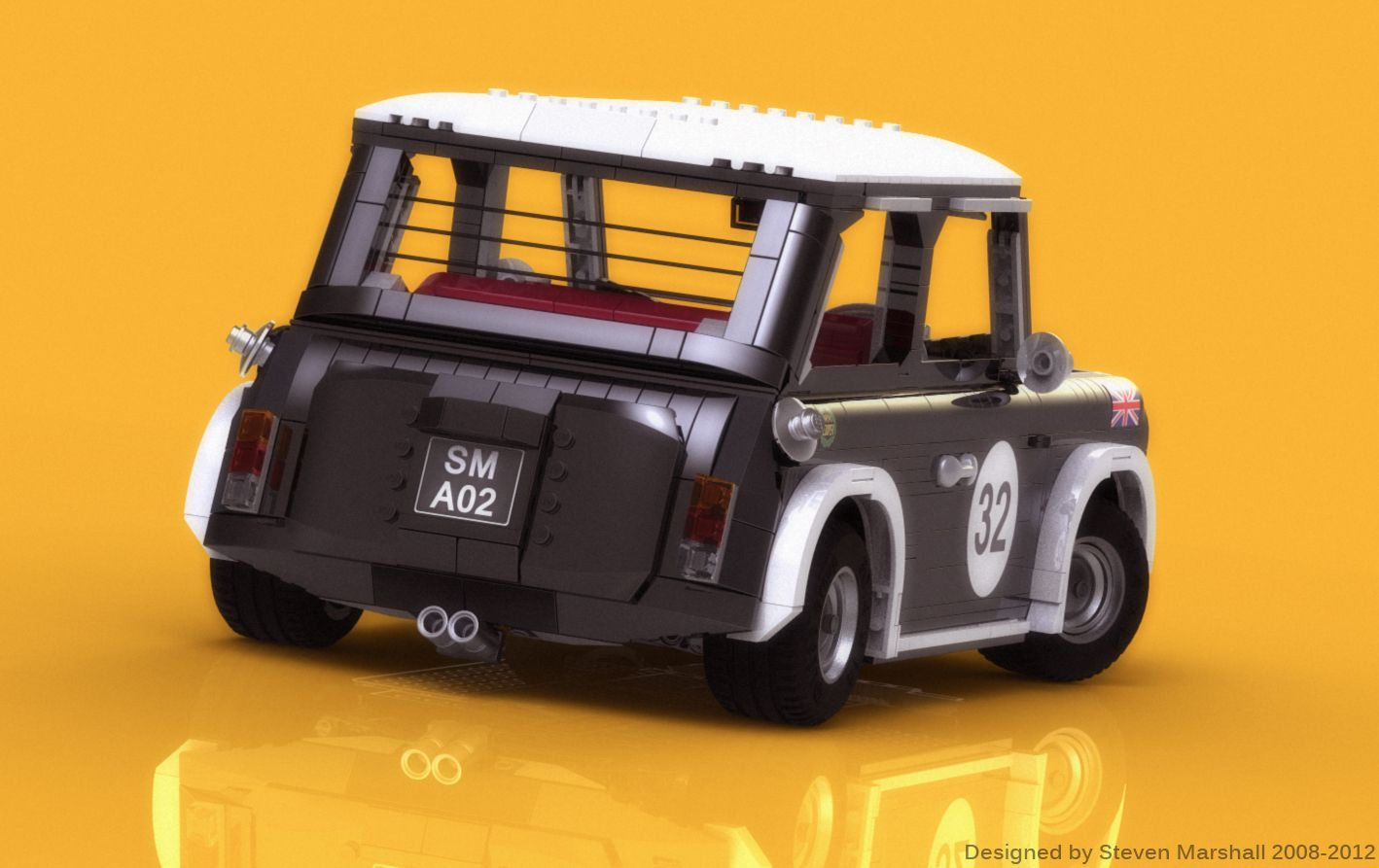 mini cooper bricks lego toys lego lego technic. Black Bedroom Furniture Sets. Home Design Ideas