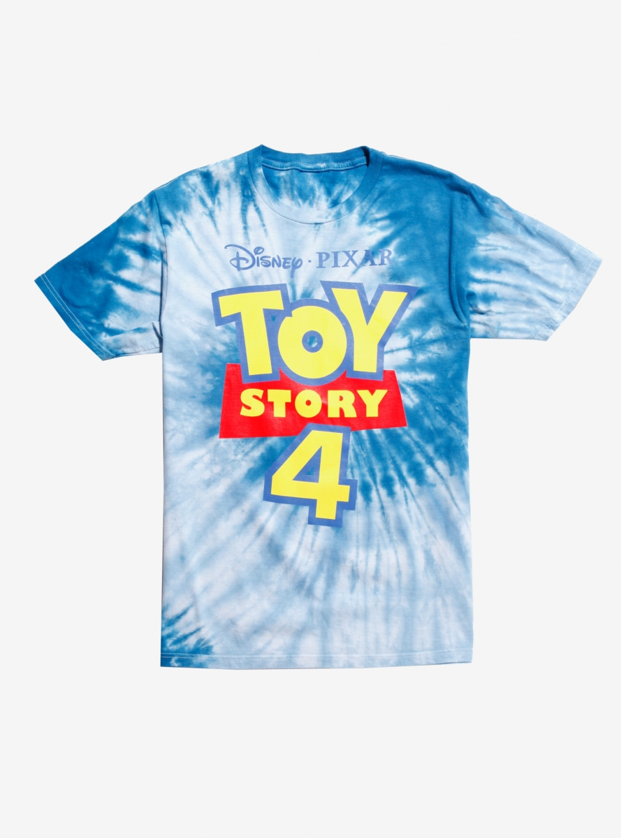 78da664c Disney Pixar Toy Story 4 Logo Tie-Dye T-Shirt in 2019 | Products ...