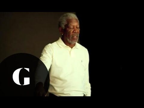 Morgan Freeman: Golf With One Hand