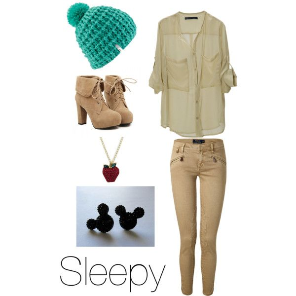 Sleepy by sammi-lynn on Polyvore featuring polyvore fashion style Polo Ralph Lauren TURNOVER Artistique Coal