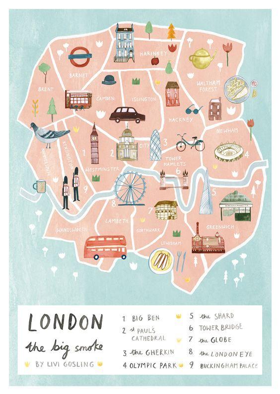 Londyn i Wielka Brytania English