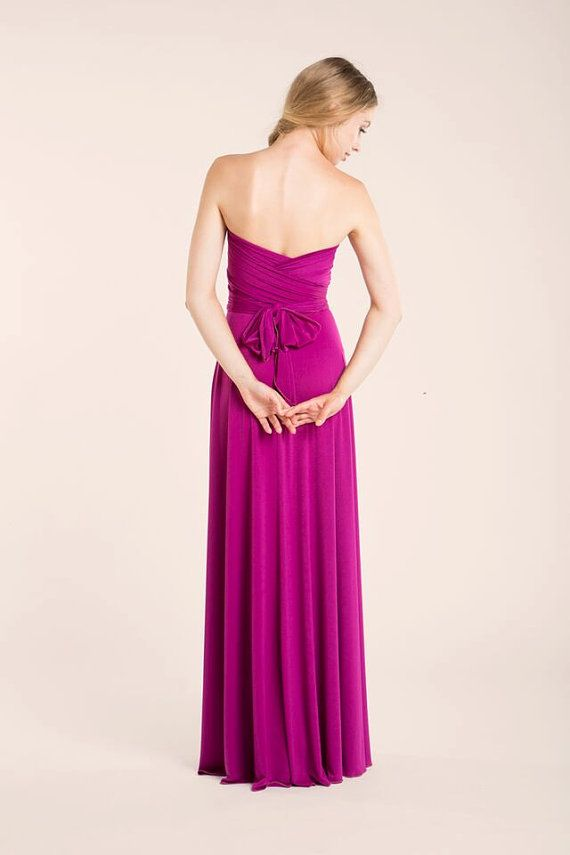 06a42496a8aa Orchid Long Infinity Dress, orchid bridesmaid, pink gown, bridesmaid dresses,  weddings, evening long dress, prom dresses, bridesmaid pink The standard