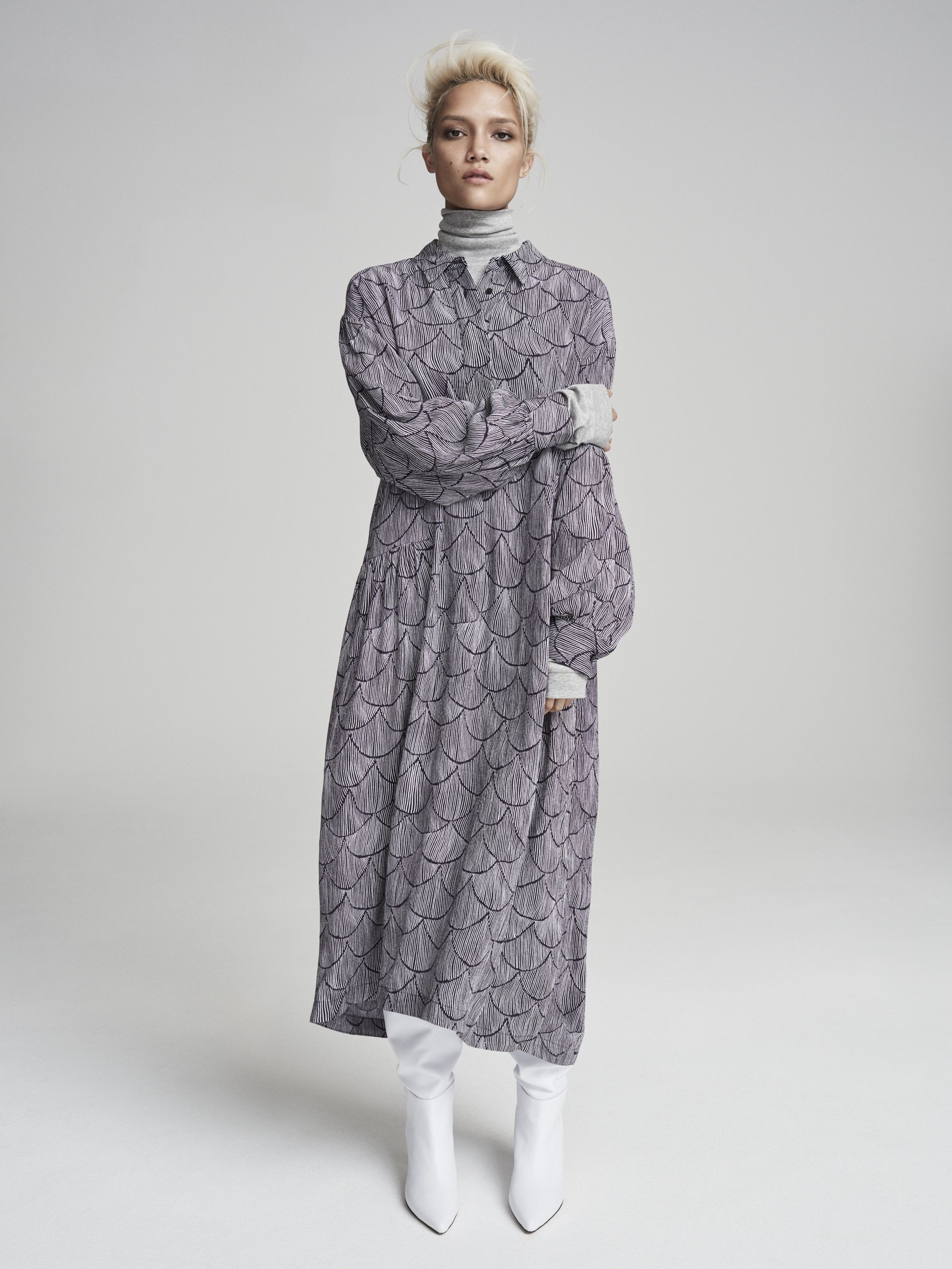 Autumn 18 From Kin By John Lewis Is Timeless And Simplistic The Collection Which Is Inspired By Japanes Fashion Summer Fashion Dresses Winter Fashion Outfits
