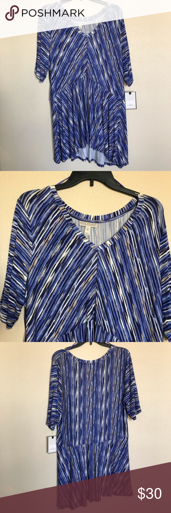 519b70b909c87e Dana Buchman Blouses - New With Tags 🏷 - Make me an offer Brand  Kohl s Dana  Buchman Size  XL Dana Buchman Tops Blouses