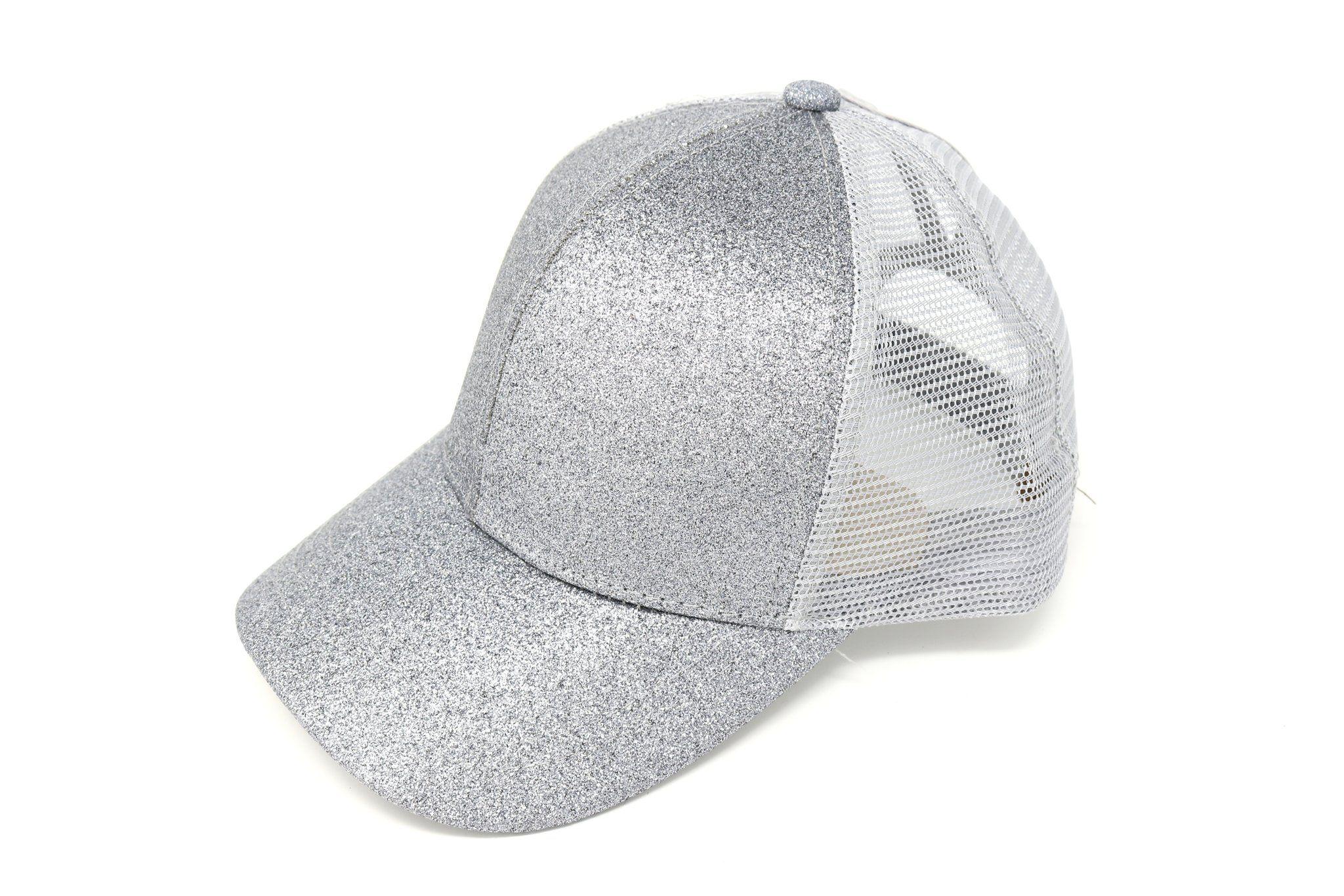 5f6b39e88 Glitter High Ponytail CC Ball Cap BT6 | Audrey Christmas list | High ...