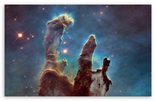 Pillars Of Creation HD Desktop Wallpaper High Definition