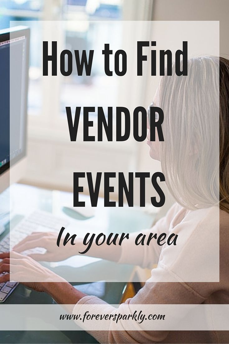 How to find Vendor Events for your Direct Sales Business | Vendor ...