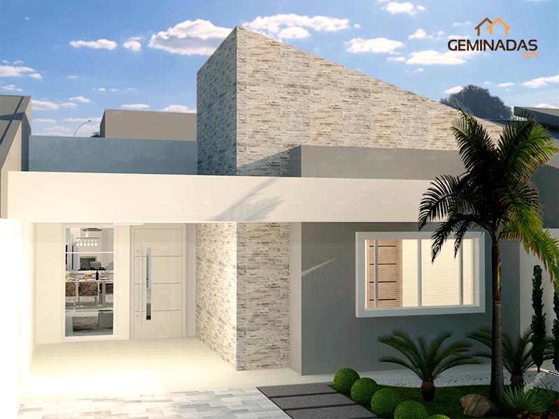 Esta es la fachada frentes pinterest la fachada for Fachada minimalista una planta