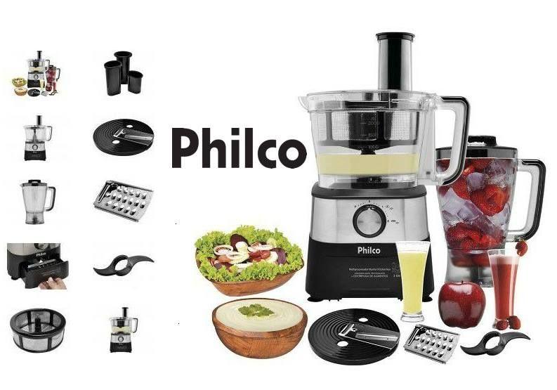 Multiprocessador 2 Velocidades Pulsar Master Kitchen 600w