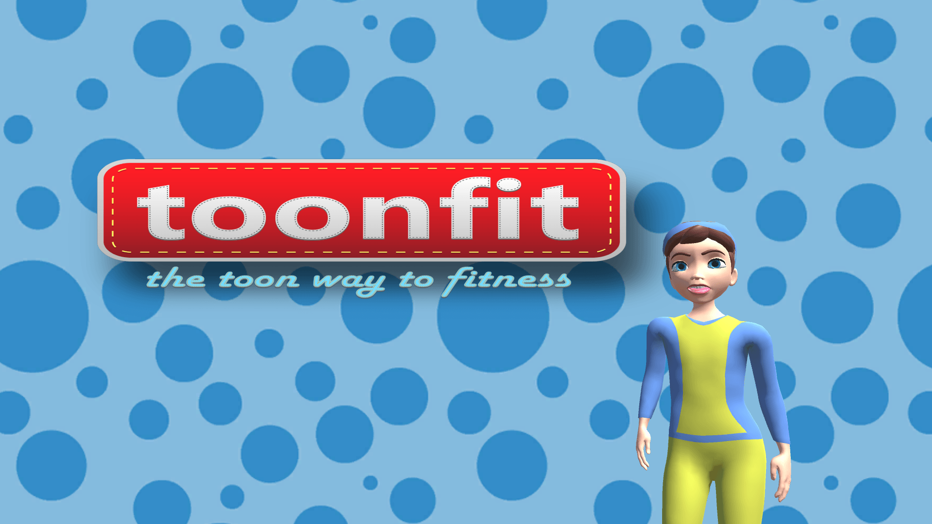 Toonfit is an exergame app for kids. Cute cartoons animated directly from personal trainers using the latest motion capture tech. Cartoons are the best possible way to motivate kids. We want toonfit to become the app that will help kids grow up into adults with healthy lifestyles.