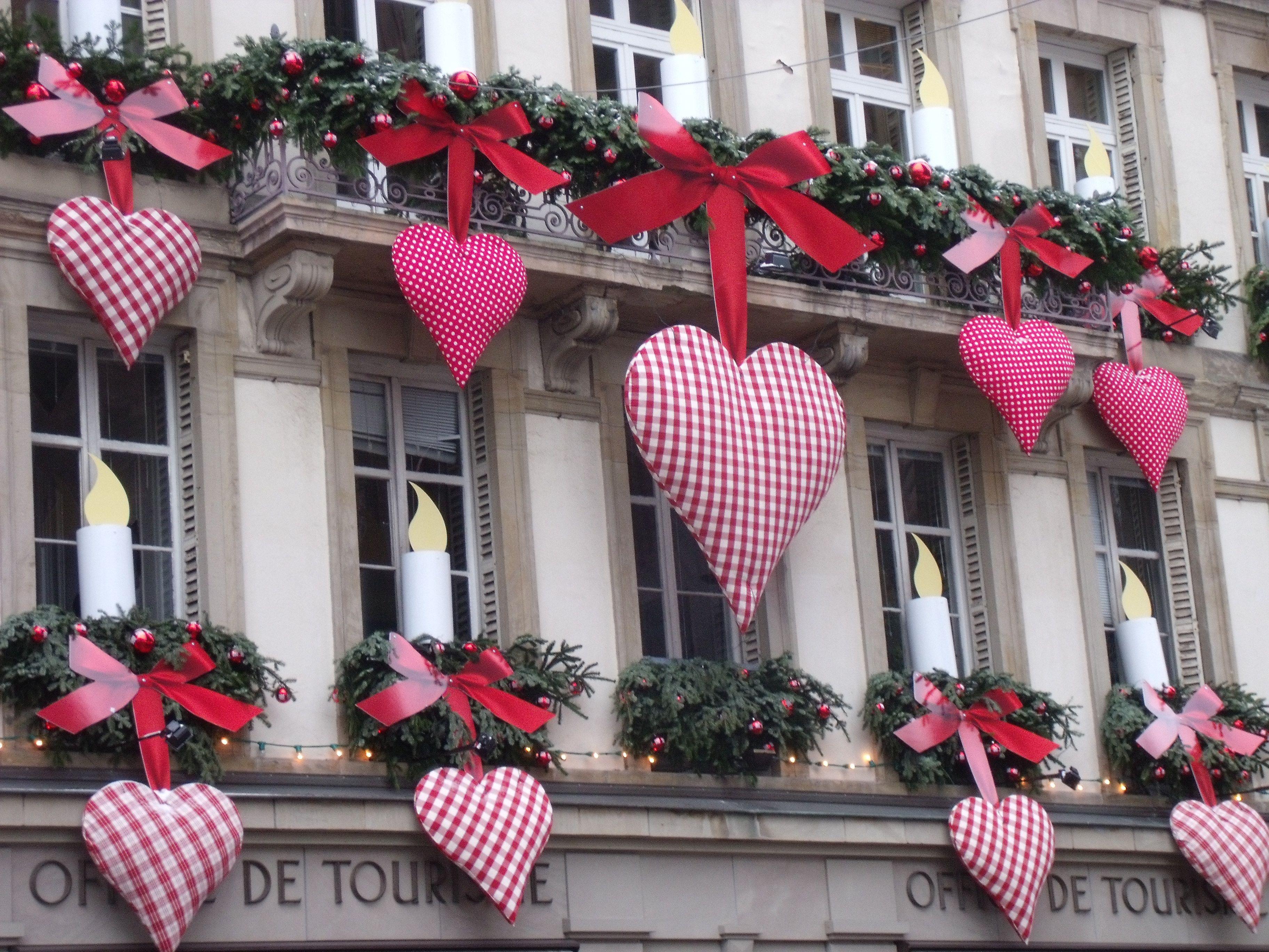 Une jolie cour intérieure Rue des Bouchers Strasbourg Alsace