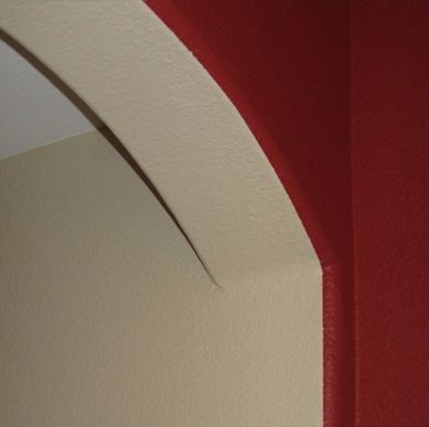 How To Paint Bullnose Or Rounded Drywall Corners 3 Tips Drywall Corners Curved Walls Basement Remodeling