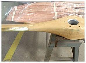 Helices de madera - helices de madera RW | el placer de volar en nuestras manos