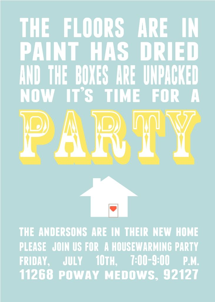 Parks and Pepper: Housewarming Invitations | Haha! Rotten ecards ...