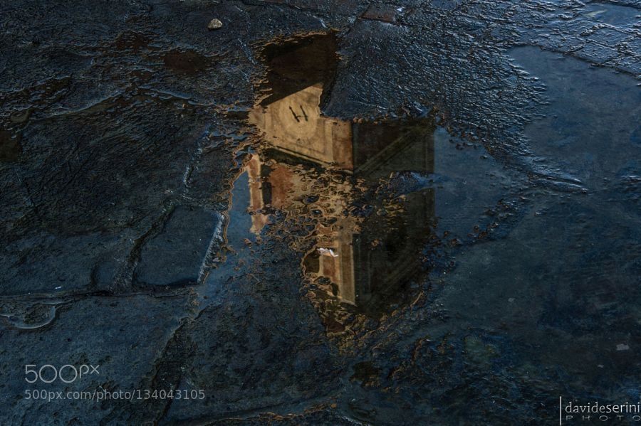 Church - Pinned by Mak Khalaf Abstract architecturechurchrainreflectionwater by sezzy0