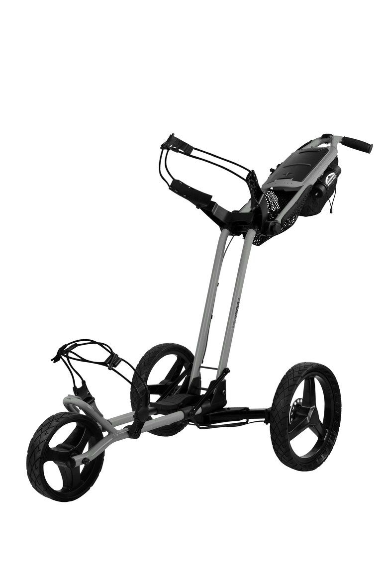 Sun Mountain Pathfinder Push Carts Make Walking The Course More Appealing With Their Efficient New Design Golf Fashion Golf Shop Golf Push Cart