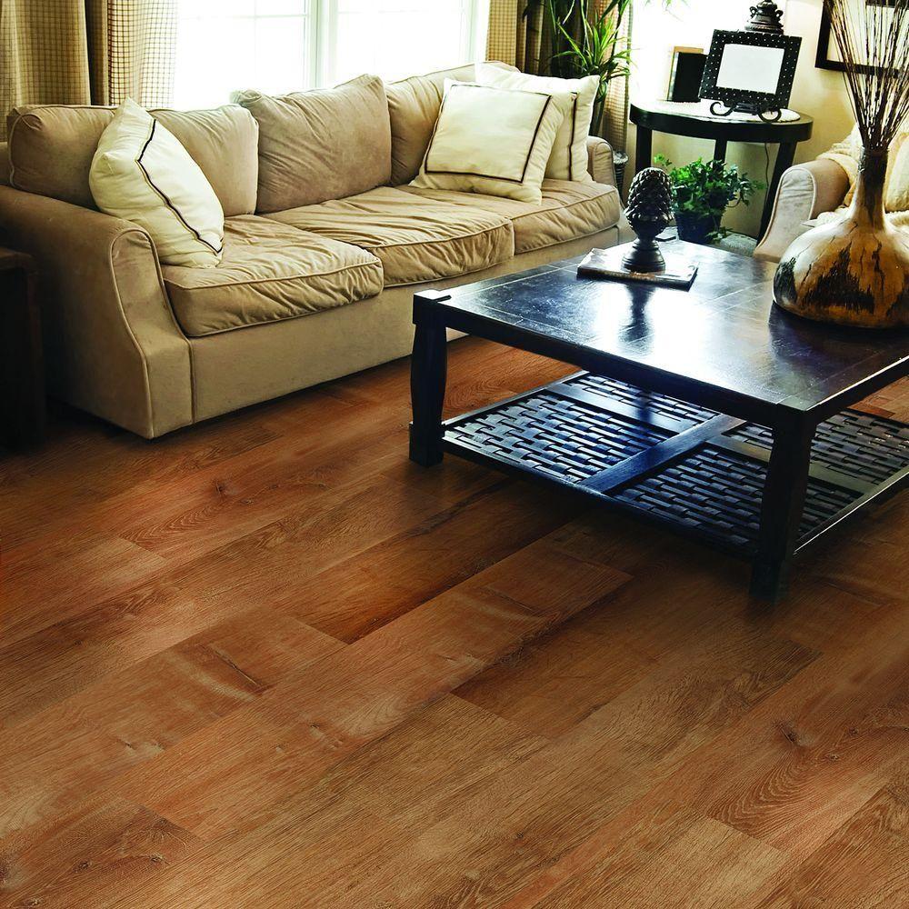 golden oak auburn luxury vinyl plank flooring sq ft case - Allure Plank Flooring