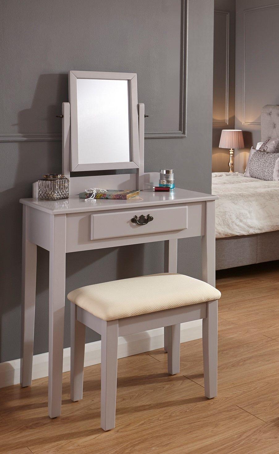 Best Schminktisch Set Gabilan Mit Spiegel Dressing Table Set 400 x 300
