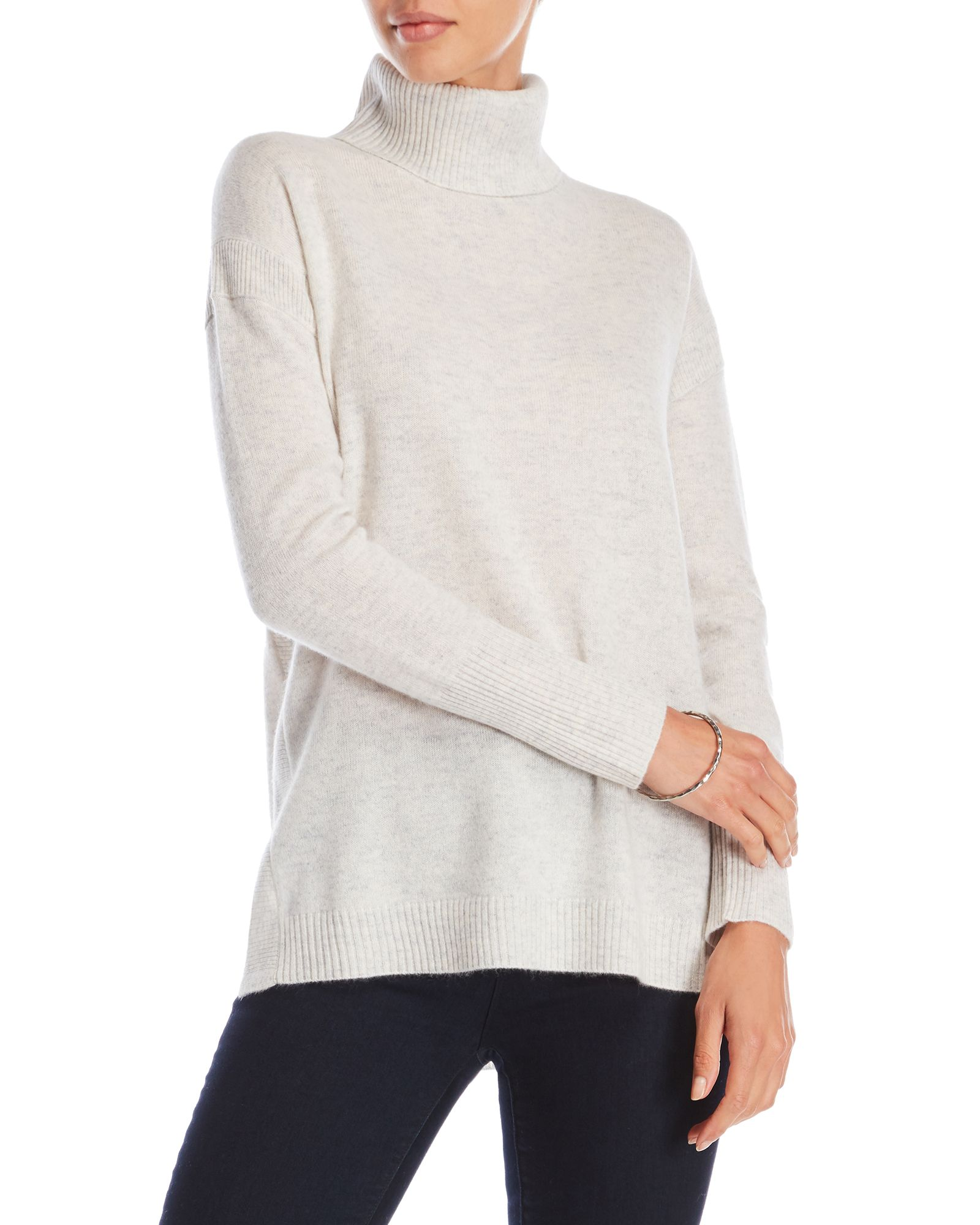 Ply Cashmere Cashmere Turtleneck Tunic Sweater | *Apparel ...
