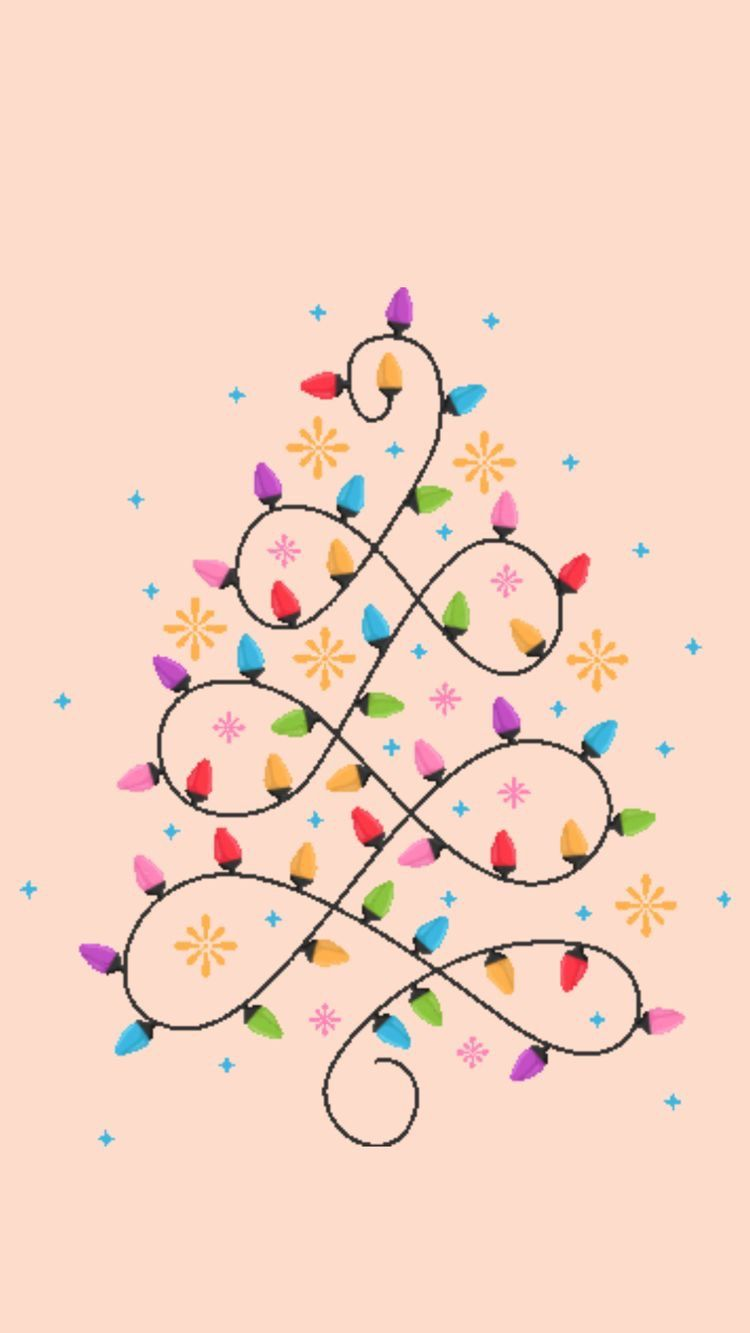 Pin By Agence Sophie Turpaud Format On Christmas Wallpapers Christmas Phone Wallpaper Christmas Drawing Wallpaper Iphone Christmas