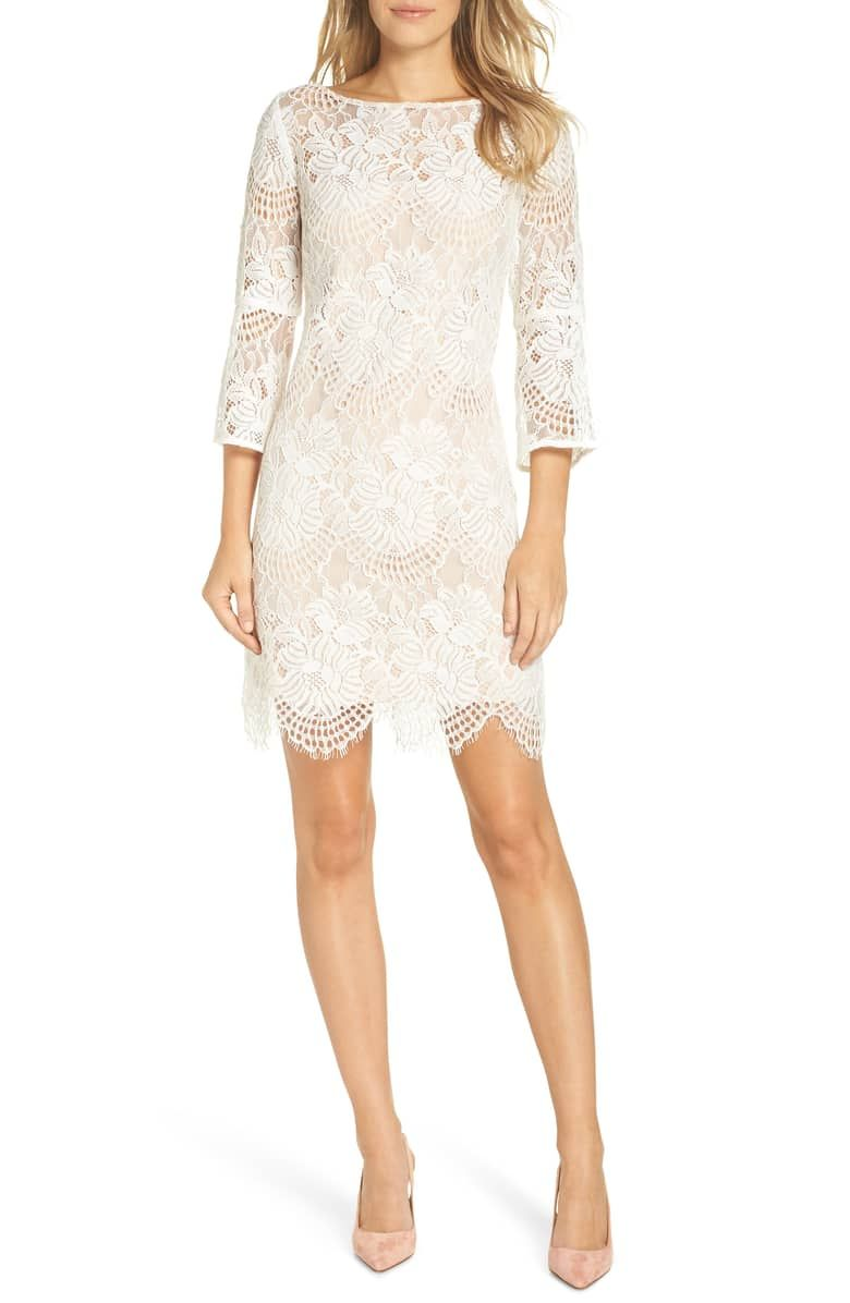 Vince Camuto Lace Shift Dress Nordstrom Just Ideas