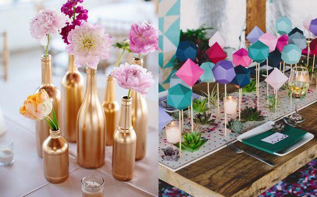 8 centres de table diy pour votre mariage 8 centres de table diy pour votre mariage shake my blog solutioingenieria Images
