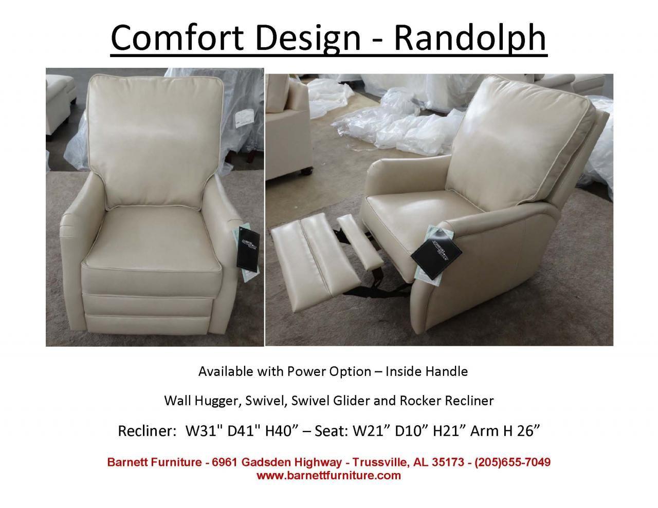 Cool Comfort Design Randolph Recliner Available Wall Hugger Uwap Interior Chair Design Uwaporg