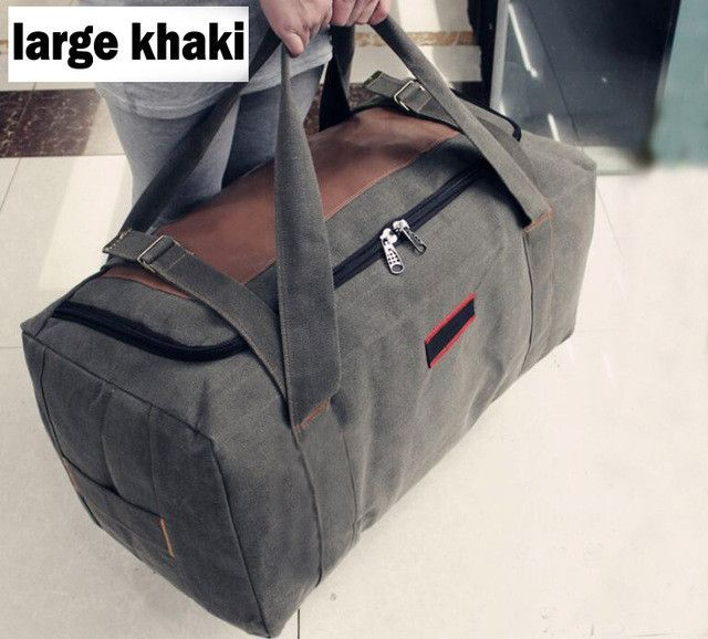 1d1461c03f ANAWISHARE Men Travel Bags Large Capacity Women Luggage Travel Duffle Bags  Canvas Big Travel Handbag Folding Trip Bag Waterproof