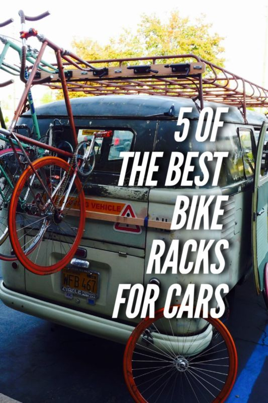 5 of the Best Bike Racks for Cars to get you packed up and on your way to adventure this summer. Click to discover more. #SummerRoadTrip