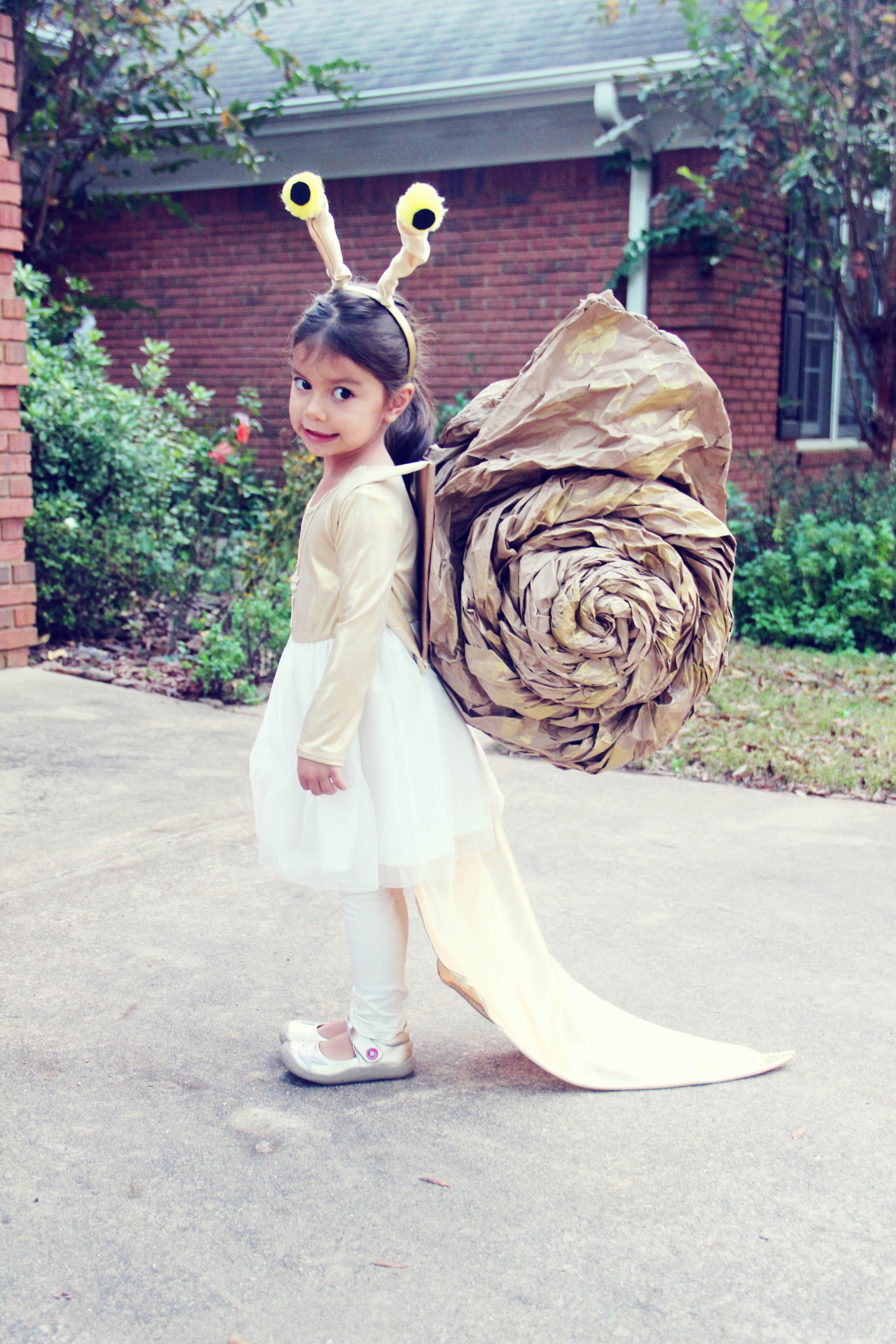Snail costume u פורים pinteu