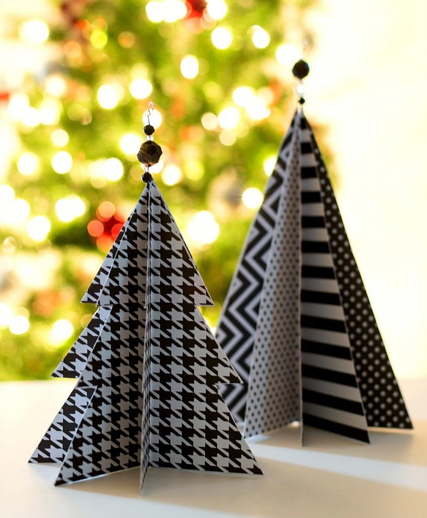 Christmas paper crafts diy inexpensive and fun project ideas