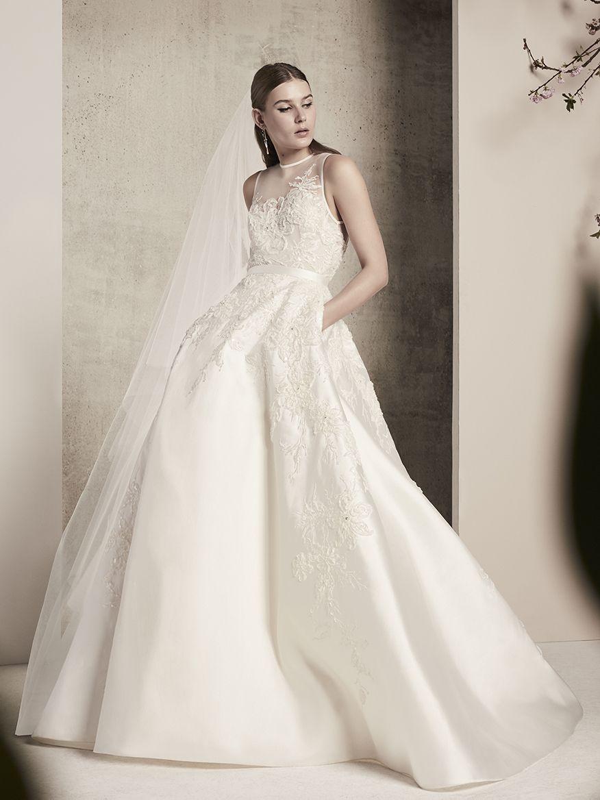 ELIE SAAB Bridal   Spring 2018   dress   Pinterest