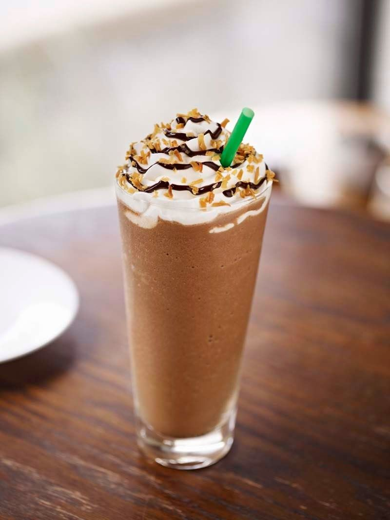 Diary of a Fit Mommy: Healthier Copycat Starbucks Mocha Frappuccino ...
