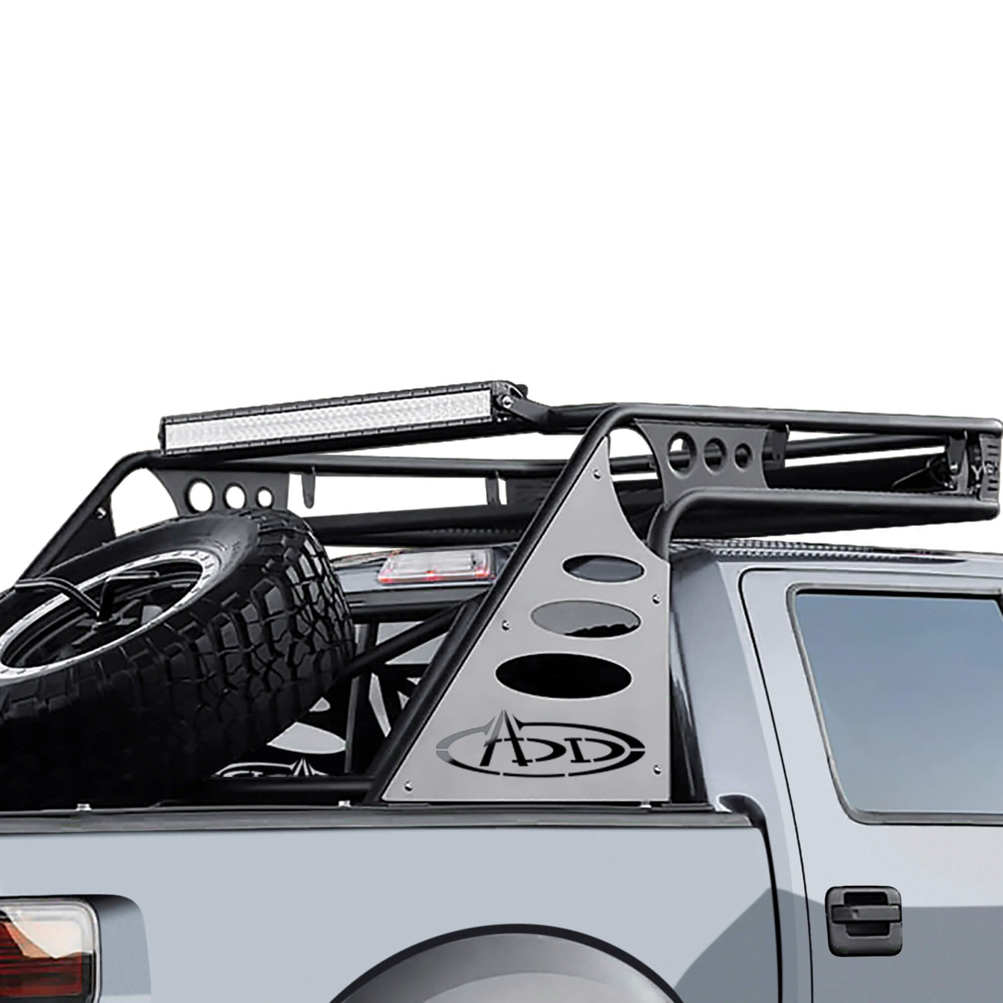 ADD Half Over Cab Chase Rack Truck accessories, Diesel