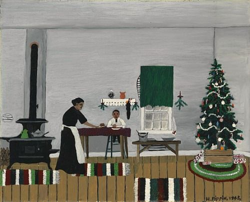 Horace Pippin Christmas Morning Breakfast 1945 For Teaching